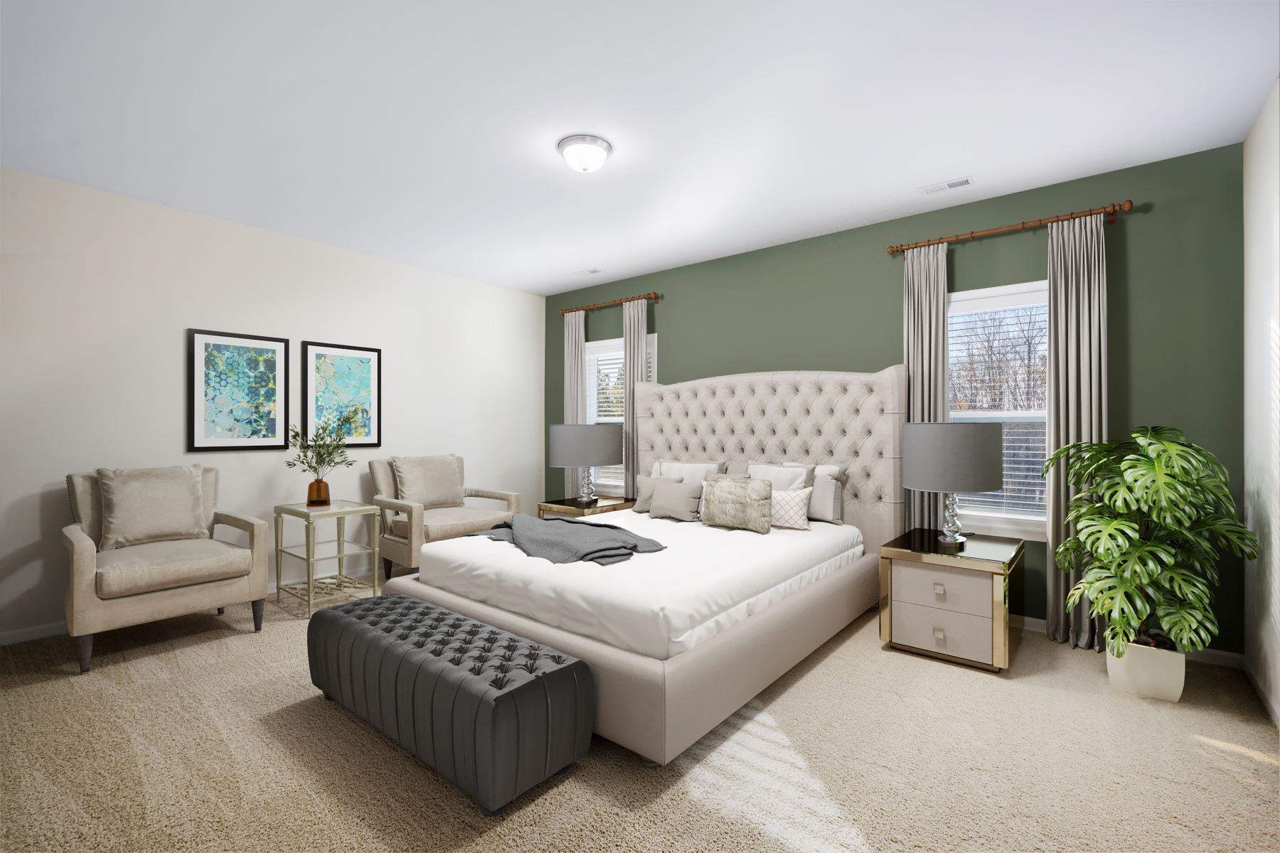 Bedroom featured in the Marshall By Mattamy Homes in Raleigh-Durham-Chapel Hill, NC