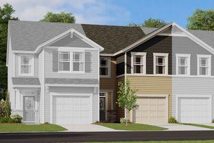 Adriana - Magnolia Walk - Towns: Huntersville, North Carolina - Mattamy Homes