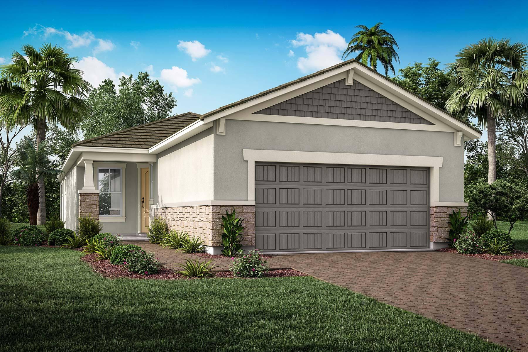 Exterior featured in the Coastway II By Mattamy Homes in Sarasota-Bradenton, FL