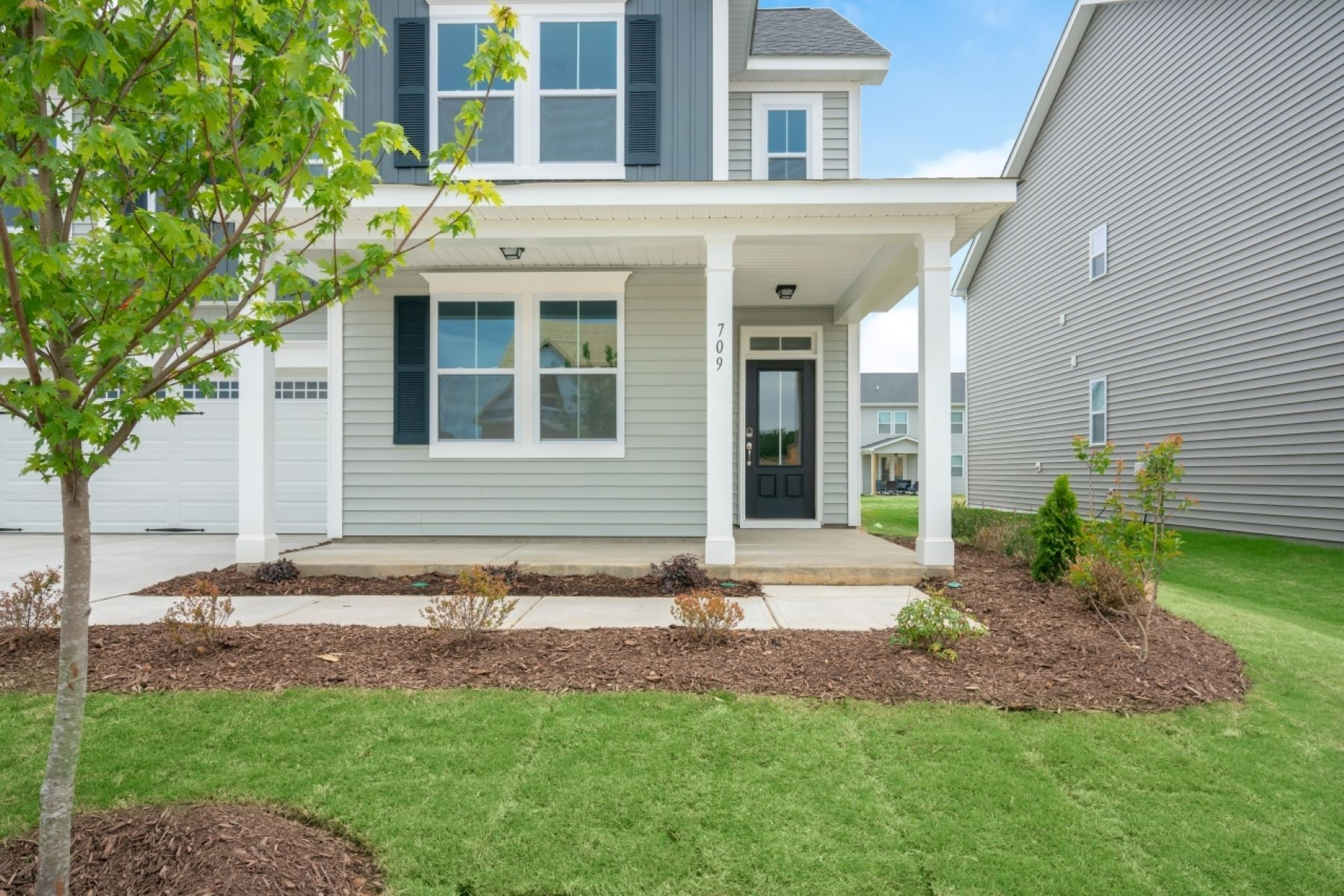 Exterior featured in the Decker By Mattamy Homes in Raleigh-Durham-Chapel Hill, NC