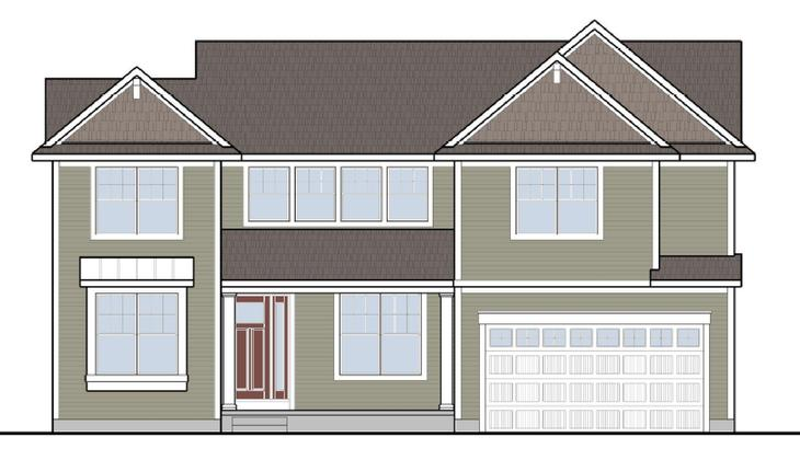 The Woodbury by Mayberry Homes:The Woodbury is an amazing treat with over 3,000 square feet, the feeling of warmth and luxury will surround you. This stunning plan presents itself with everything you can imagine - and then some. Just on the first floor is a study, great room, formal di