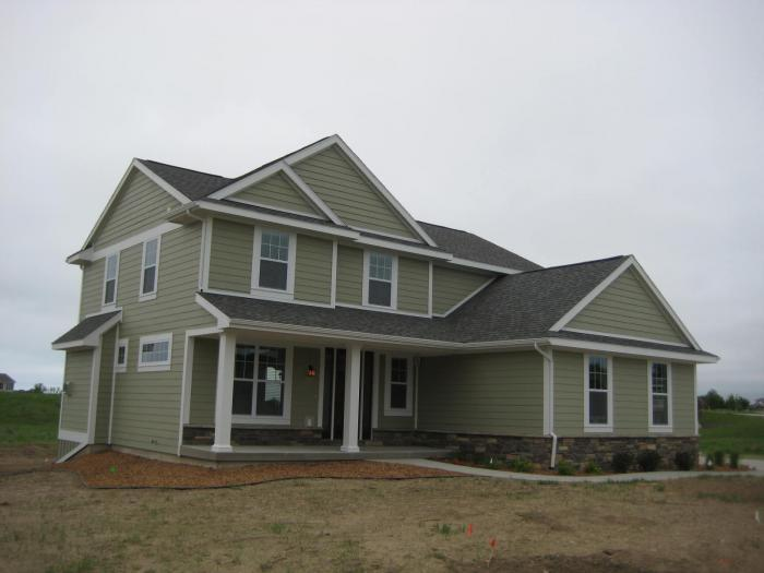 Exterior featured in the Willow By Mayberry Homes in Flint, MI