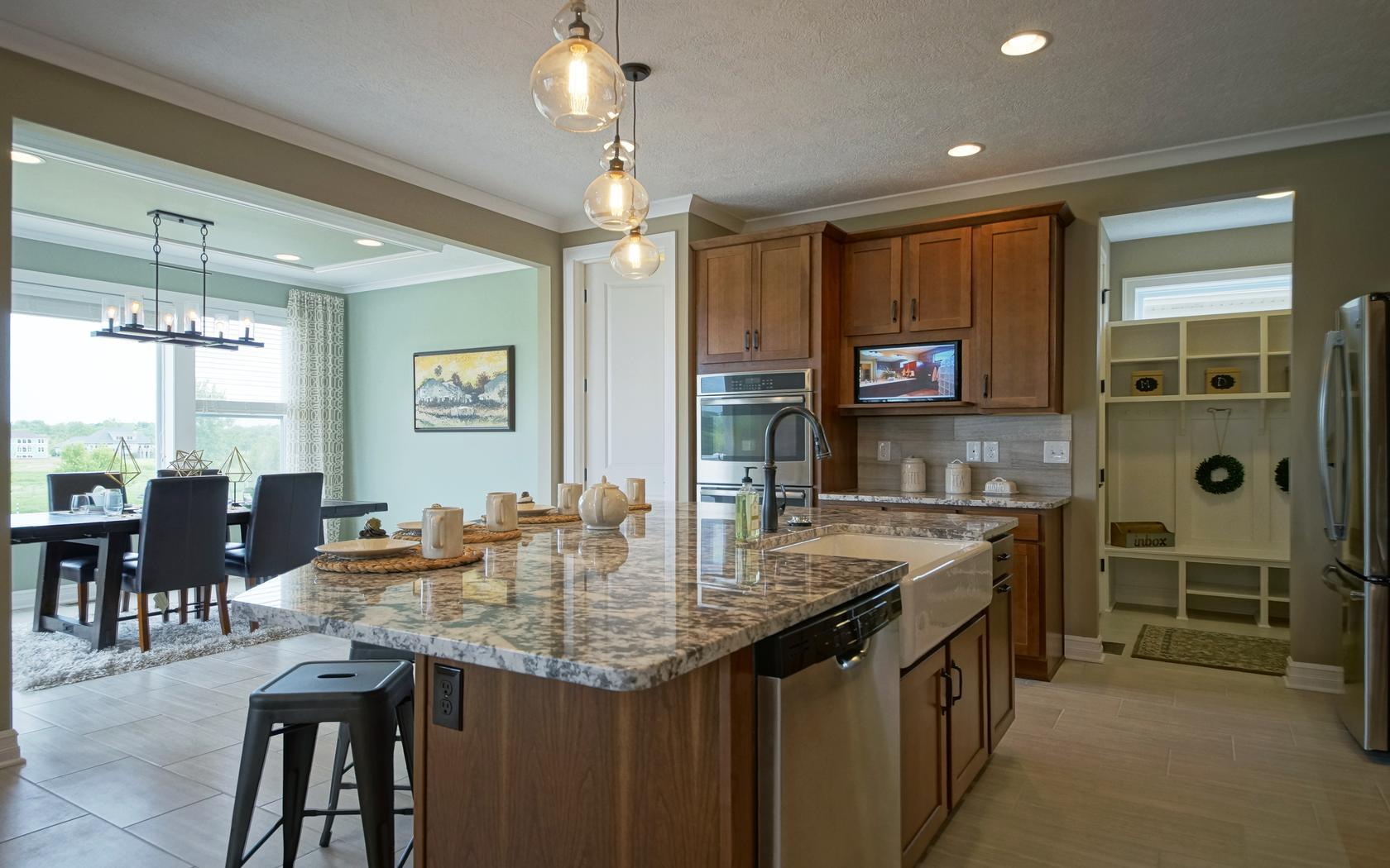 Kitchen featured in the Prescott By Mayberry Homes in Lansing, MI