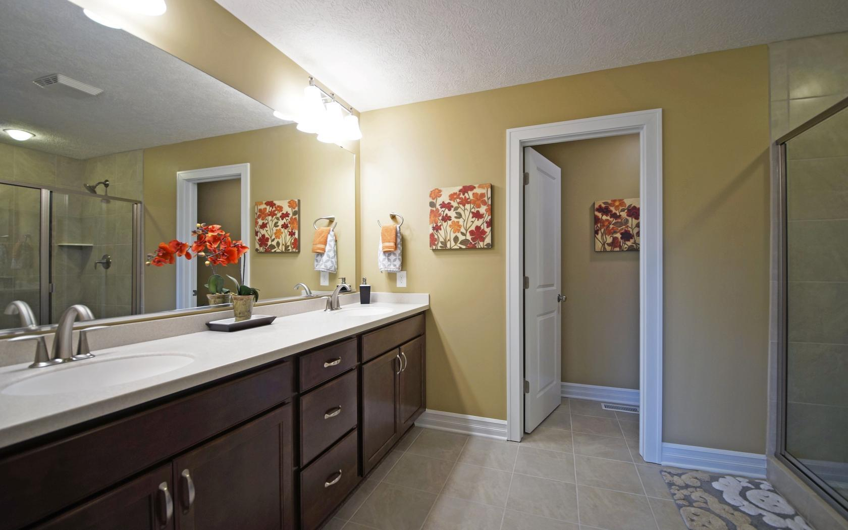 Bathroom featured in the Westwood By Mayberry Homes in Lansing, MI