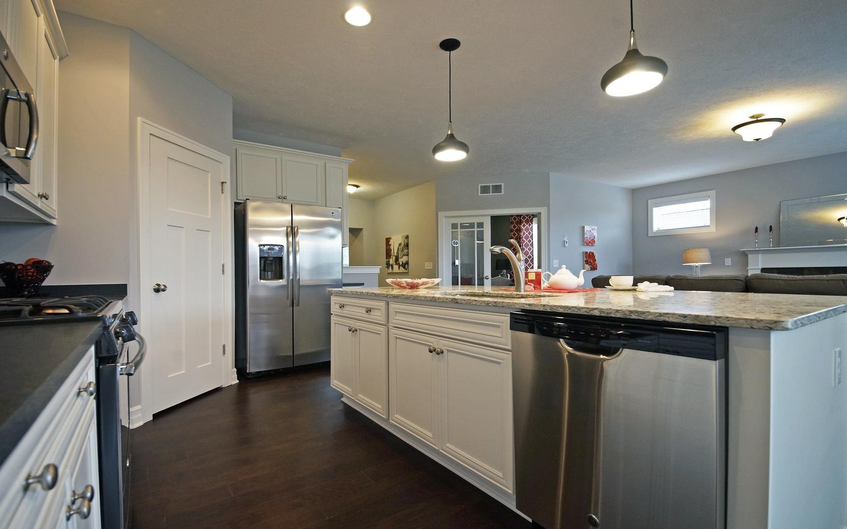 Kitchen featured in the Newcastle By Mayberry Homes in Lansing, MI