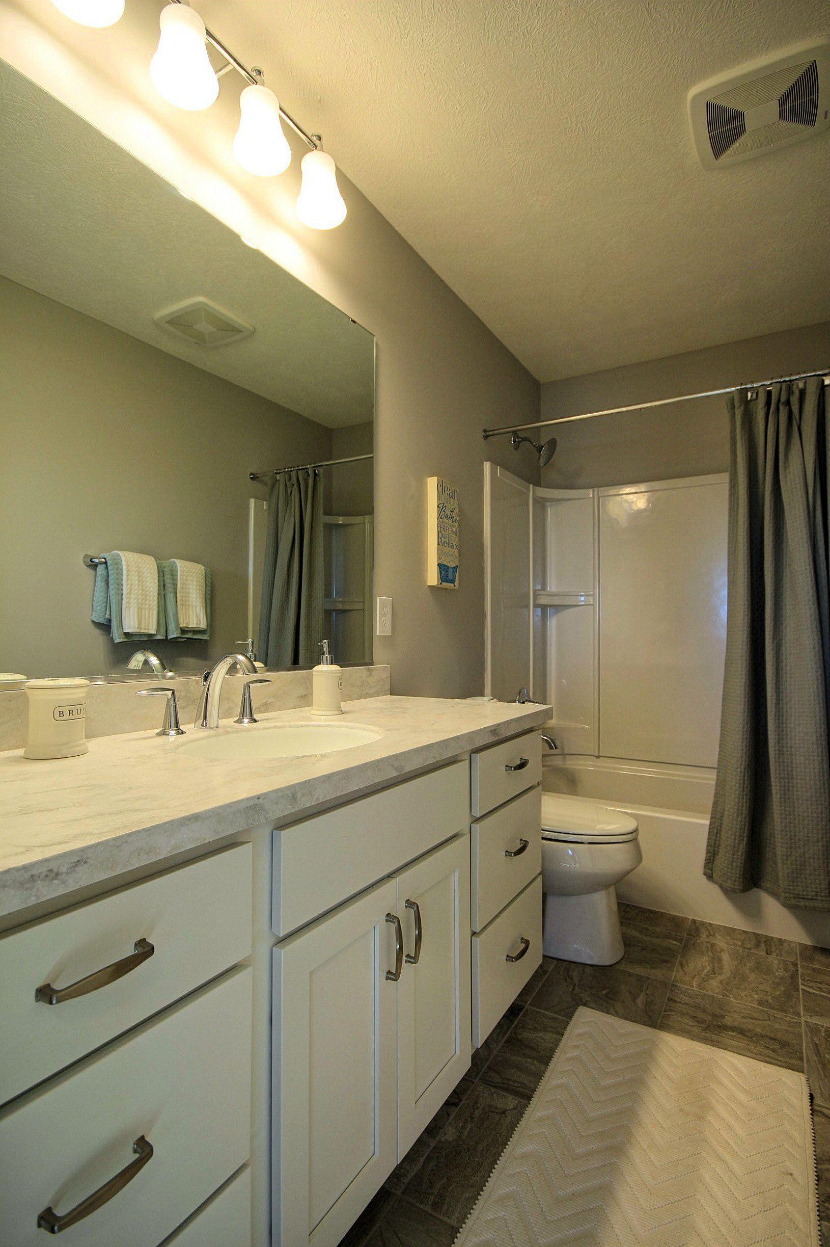 Bathroom featured in the Mackinaw By Mayberry Homes in Lansing, MI