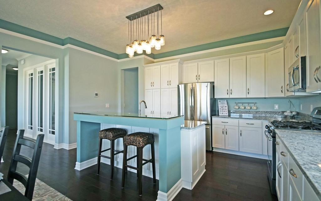 Kitchen featured in the Pleasanton By Mayberry Homes in Lansing, MI