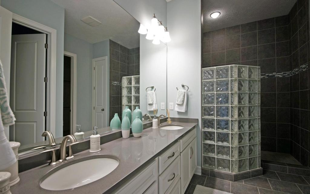 Bathroom featured in the Pleasanton By Mayberry Homes in Lansing, MI