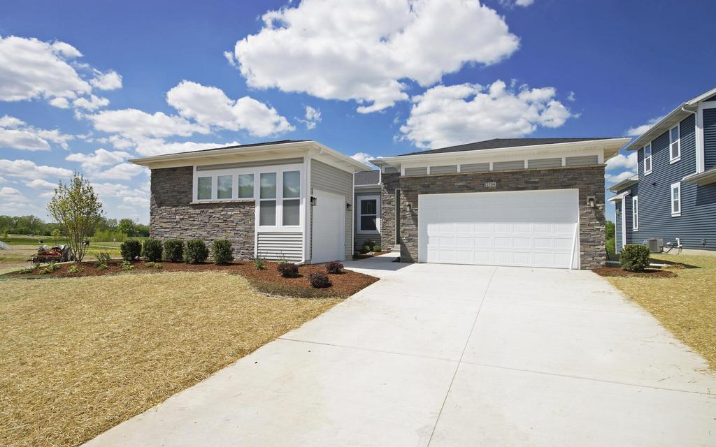 Exterior featured in the Pleasanton By Mayberry Homes in Lansing, MI