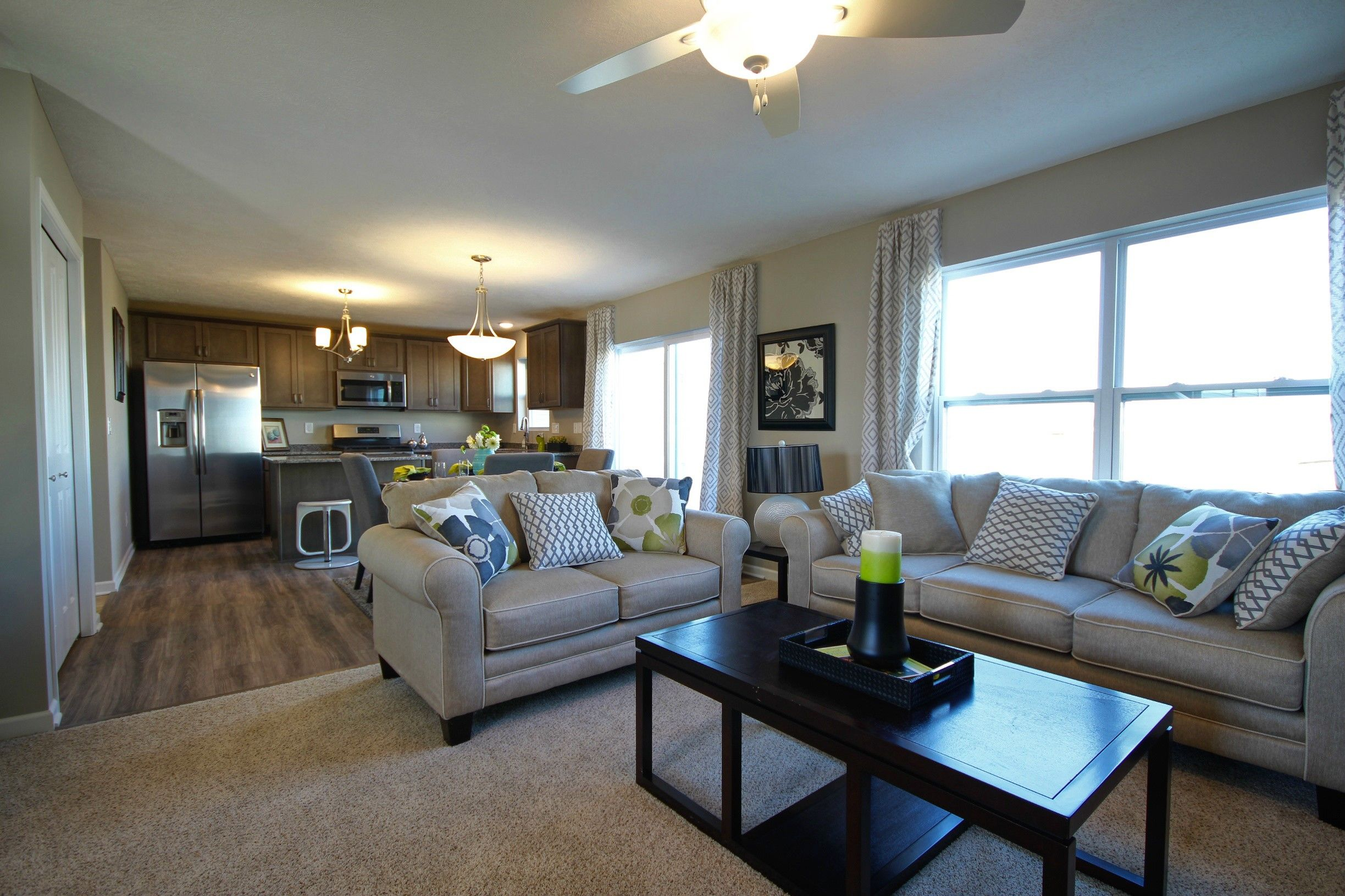 Living Area featured in the Northwood By Mayberry Homes in Flint, MI