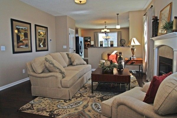 Living Area featured in the Norfolk By Mayberry Homes in Flint, MI