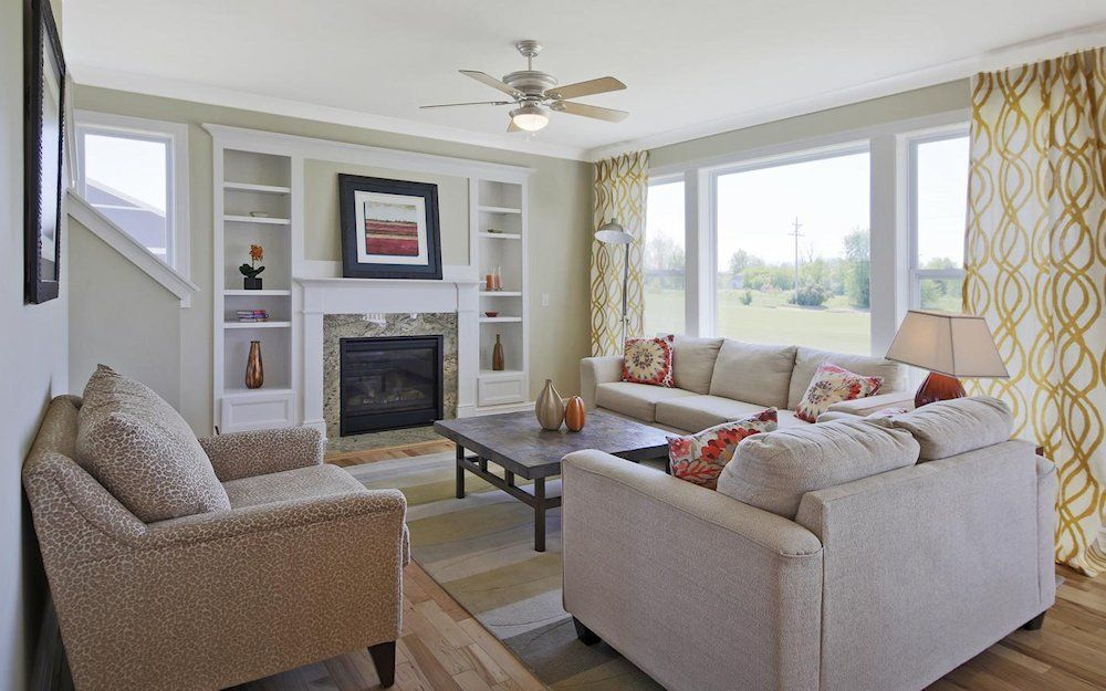 Living Area featured in the Newton By Mayberry Homes in Lansing, MI