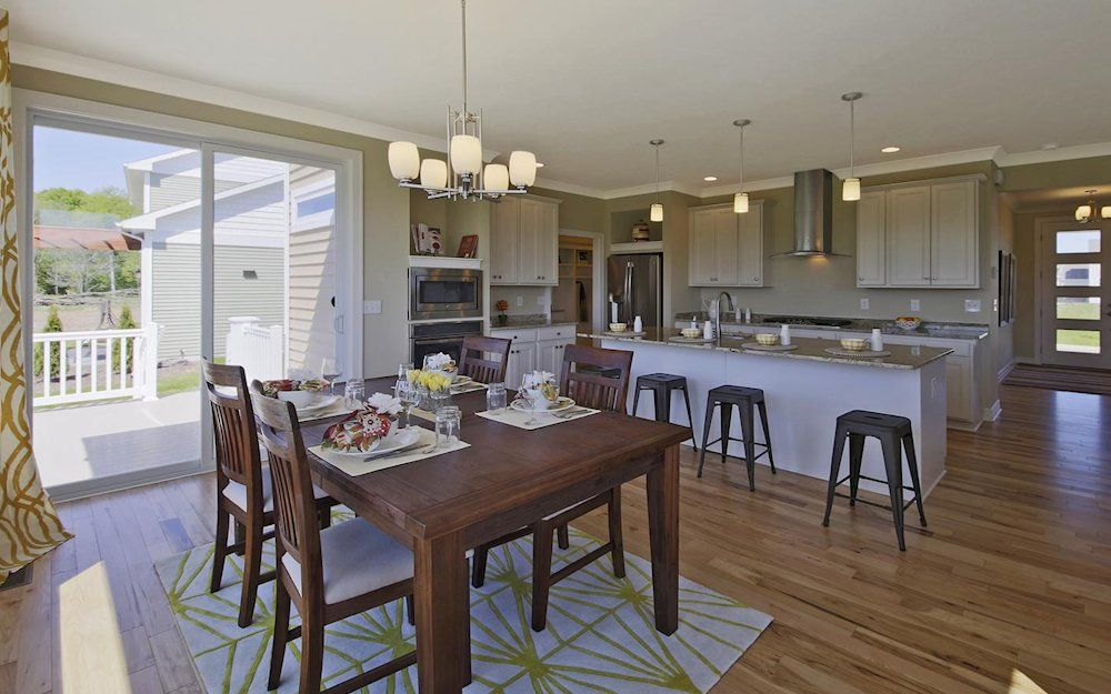 Kitchen featured in the Newton By Mayberry Homes in Lansing, MI