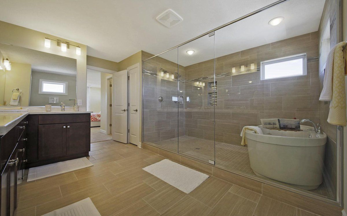 Bathroom featured in the Newton By Mayberry Homes in Lansing, MI