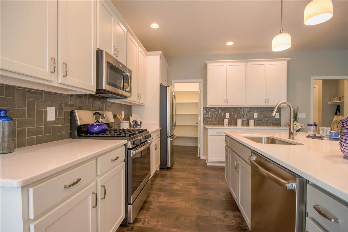 Kitchen featured in the Newport By Mayberry Homes in Lansing, MI
