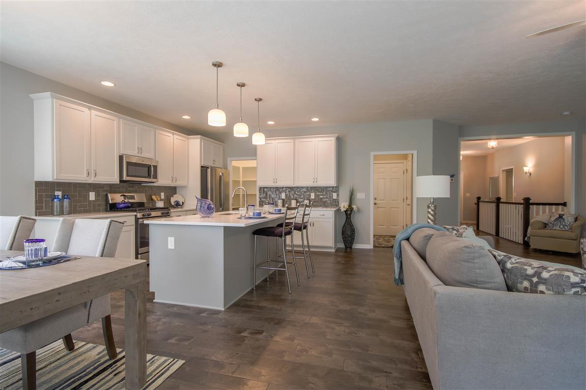 Kitchen featured in the Newport By Mayberry Homes in Flint, MI