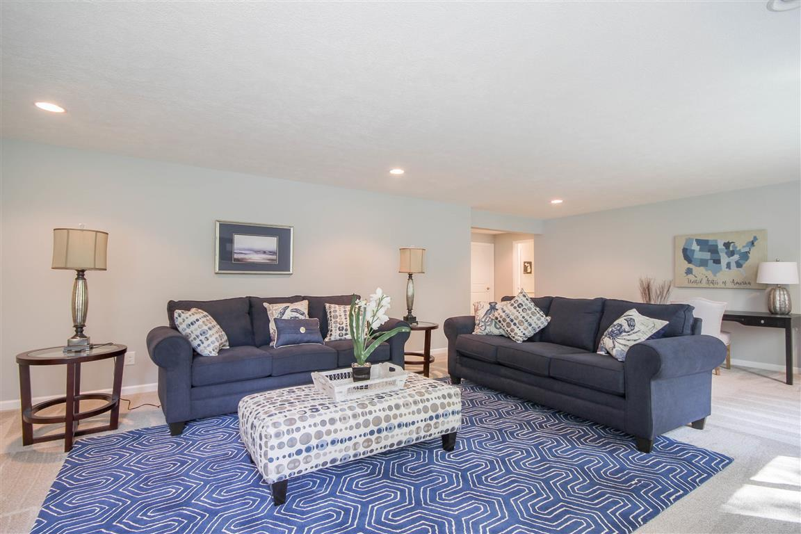 Living Area featured in the Newport By Mayberry Homes in Lansing, MI