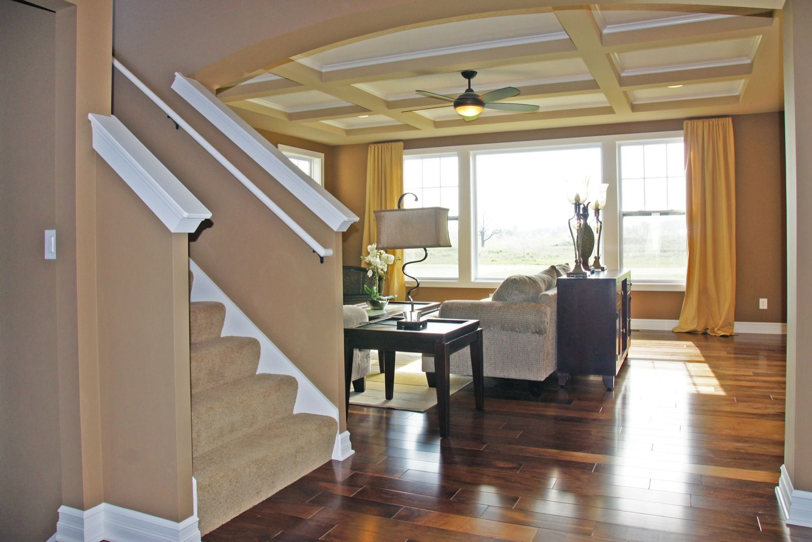 Living Area featured in the Nantucket By Mayberry Homes in Lansing, MI