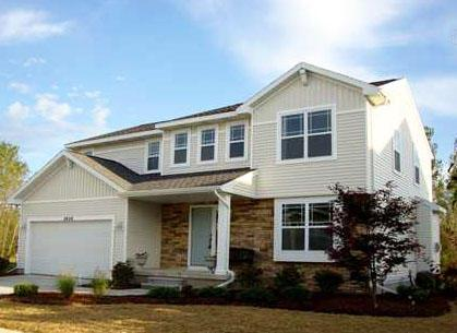 Exterior featured in the Holiday By Mayberry Homes in Ann Arbor, MI