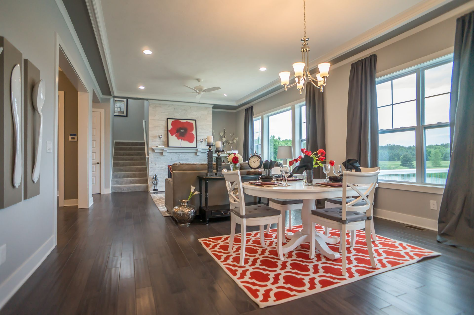 Kitchen featured in the Maxwell By Mayberry Homes in Flint, MI