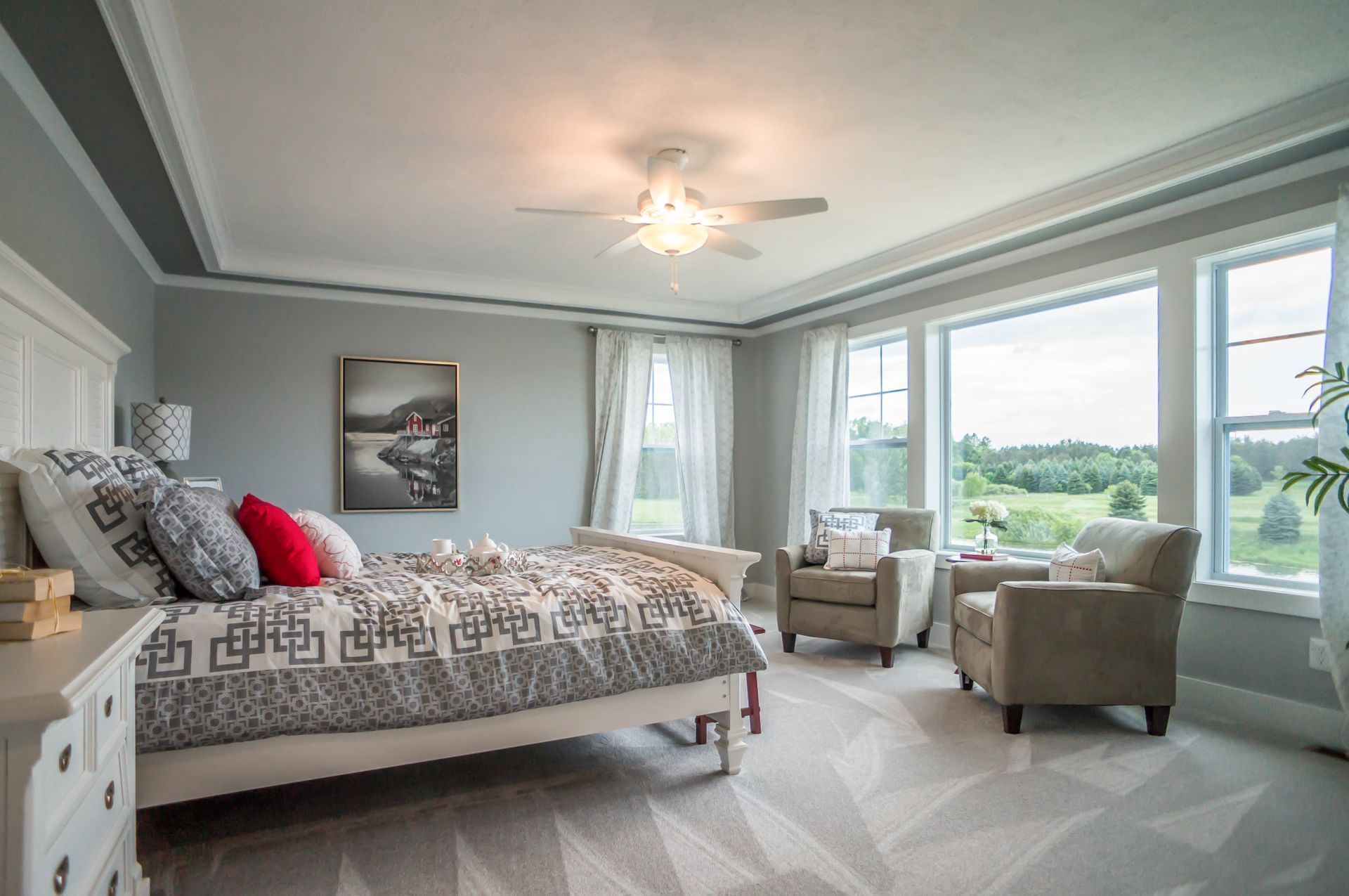 Bedroom featured in the Maxwell By Mayberry Homes in Lansing, MI
