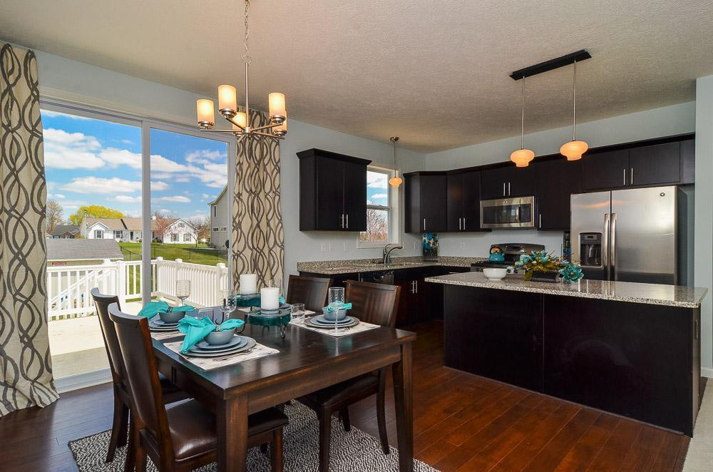 Kitchen featured in the Hartwell By Mayberry Homes in Flint, MI