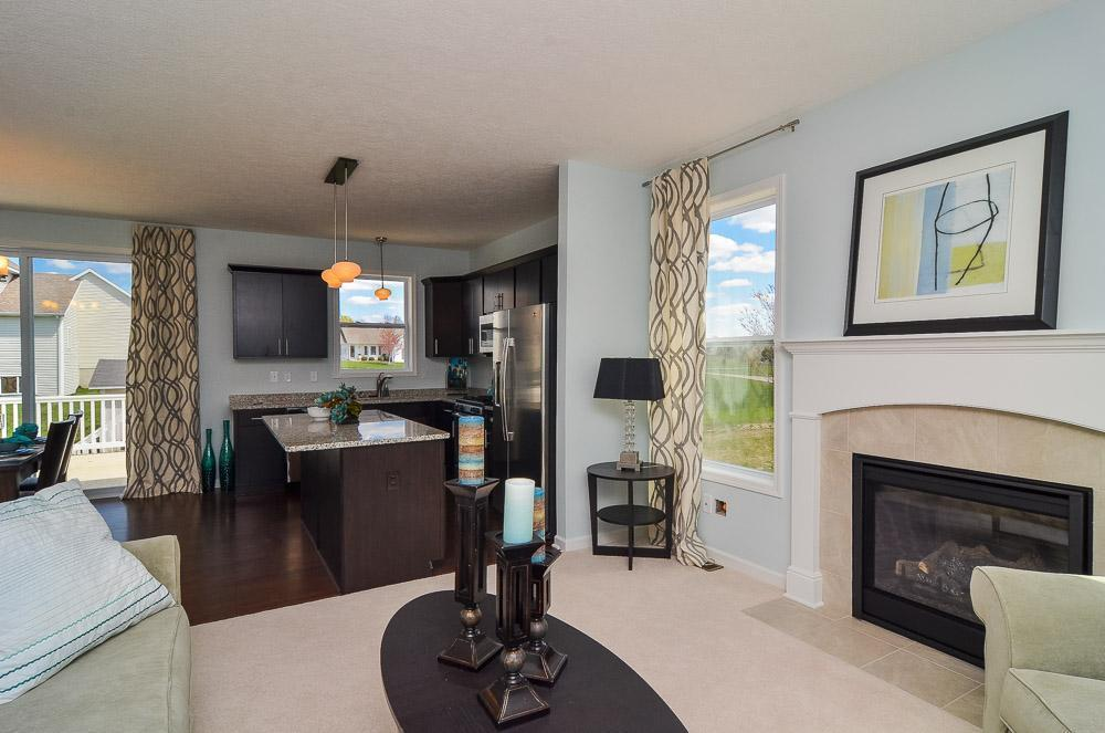 Living Area featured in the Hartwell By Mayberry Homes in Lansing, MI