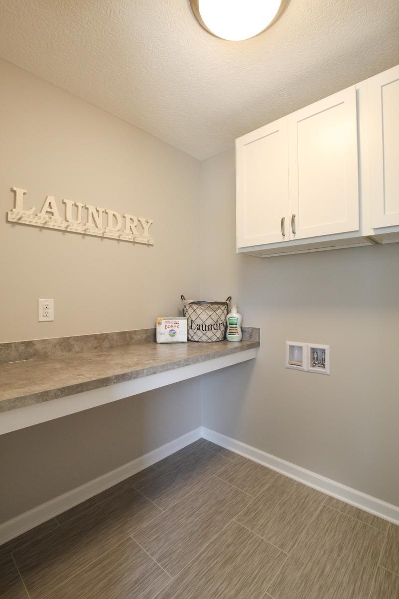 Living Area featured in the Hatfield By Mayberry Homes in Lansing, MI
