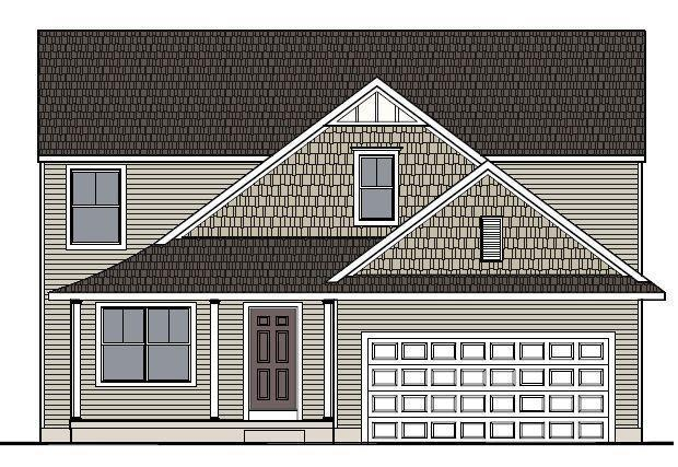 Exterior featured in the Hatfield By Mayberry Homes in Flint, MI