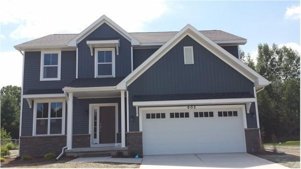 Exterior featured in the Hatfield By Mayberry Homes in Lansing, MI