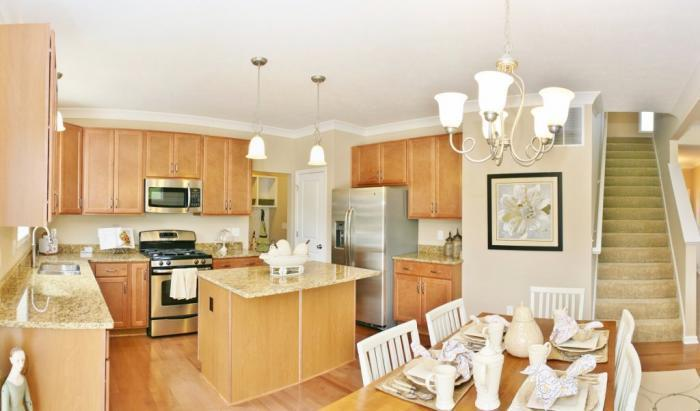 Kitchen featured in the Hatfield By Mayberry Homes in Flint, MI