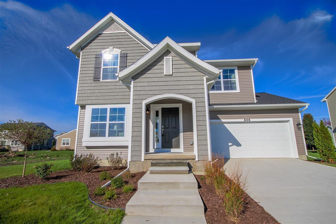 Exterior featured in the Hickory By Mayberry Homes in Lansing, MI