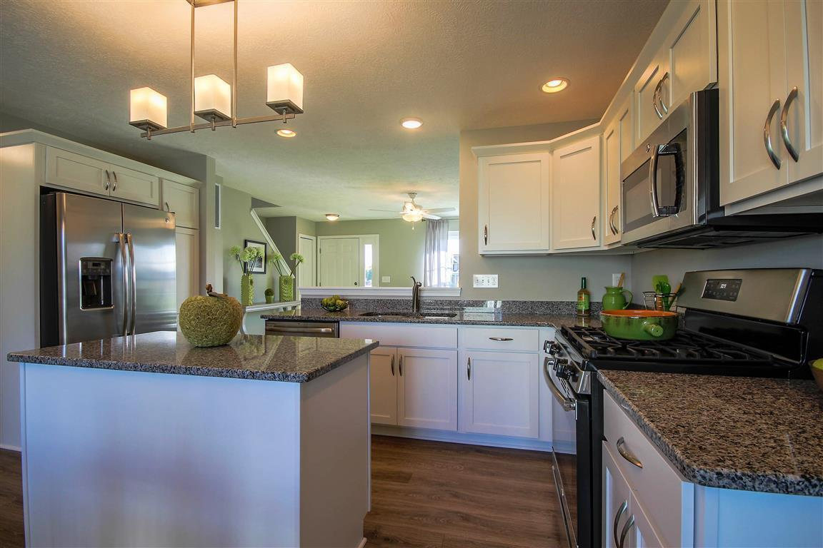 Kitchen featured in the Hickory By Mayberry Homes in Flint, MI