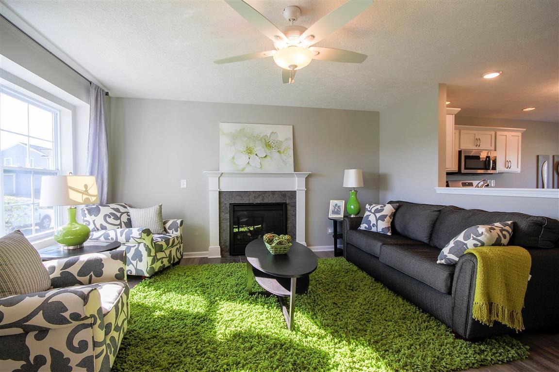 Living Area featured in the Hickory By Mayberry Homes in Flint, MI
