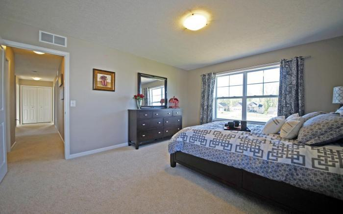 Bedroom featured in the Holiday By Mayberry Homes in Lansing, MI