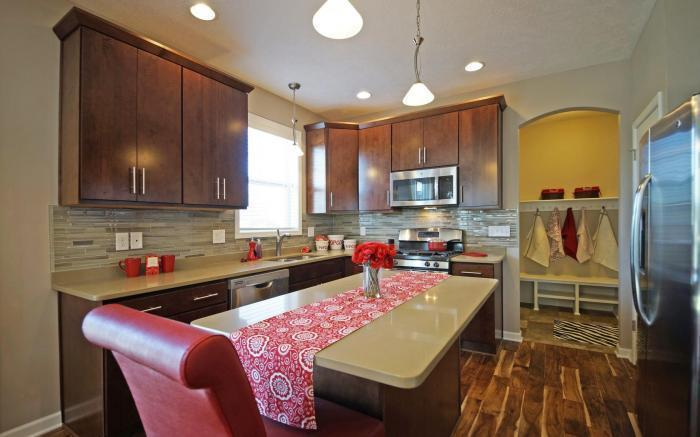 Kitchen featured in the Holiday By Mayberry Homes in Flint, MI