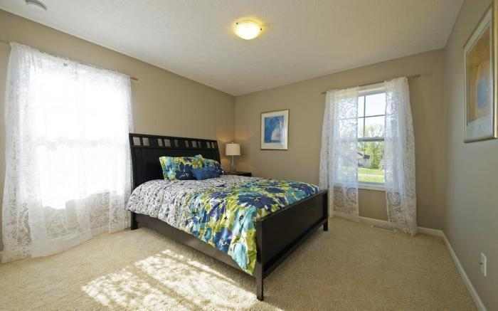 Bedroom featured in the Holiday By Mayberry Homes in Flint, MI