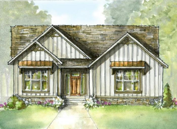 Exterior featured in the Newport By Mayberry Homes in Lansing, MI