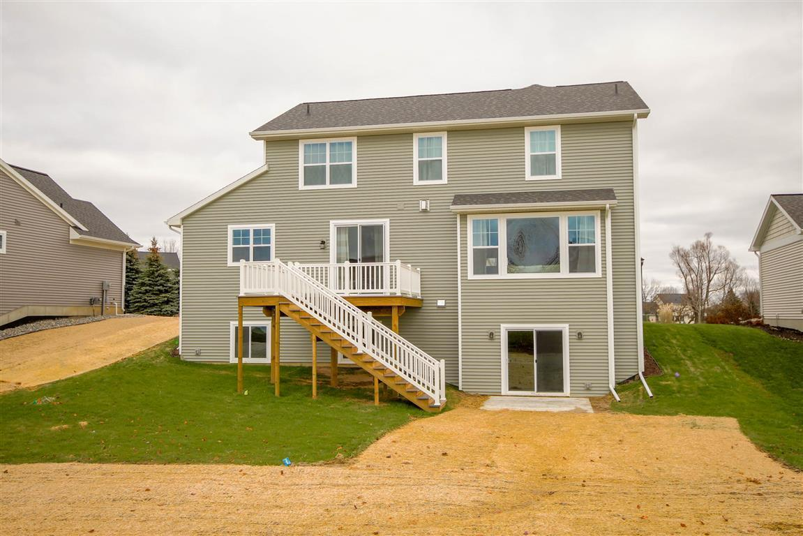 Exterior featured in the Newton By Mayberry Homes in Lansing, MI