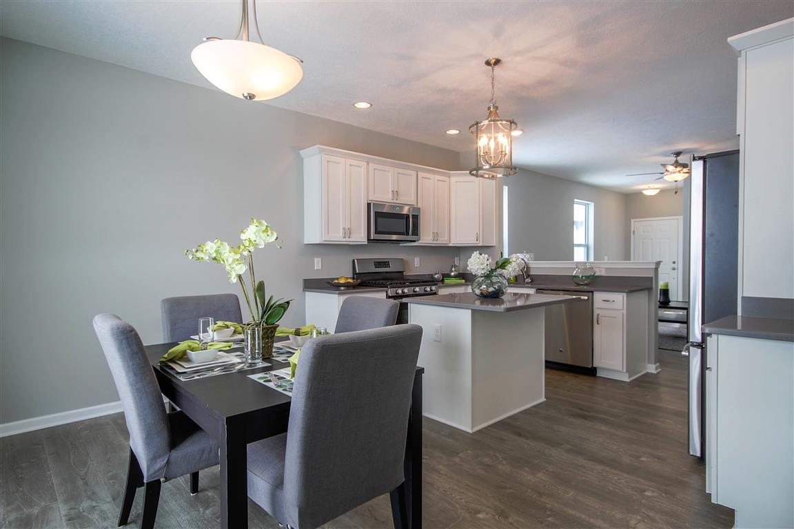 Kitchen featured in the Norfolk By Mayberry Homes in Lansing, MI