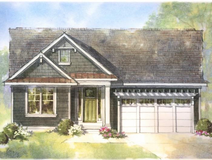 Exterior featured in the Norway By Mayberry Homes in Lansing, MI