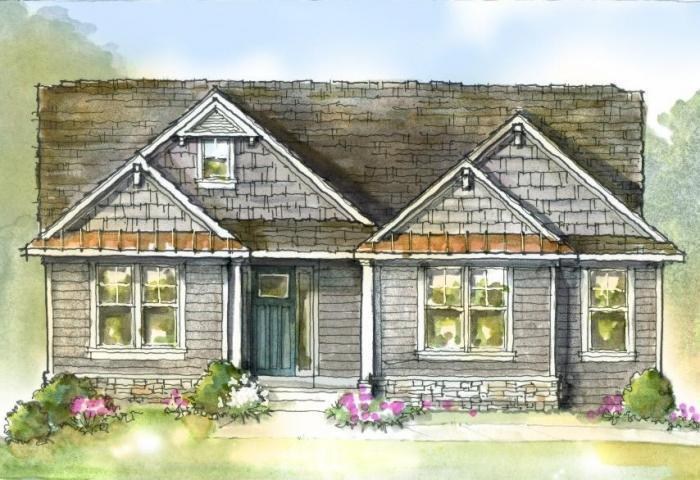 Exterior featured in the Norway By Mayberry Homes in Flint, MI