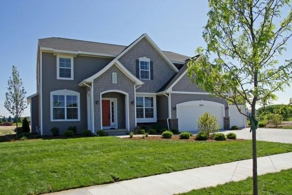 Exterior featured in the Woodbury By Mayberry Homes in Lansing, MI
