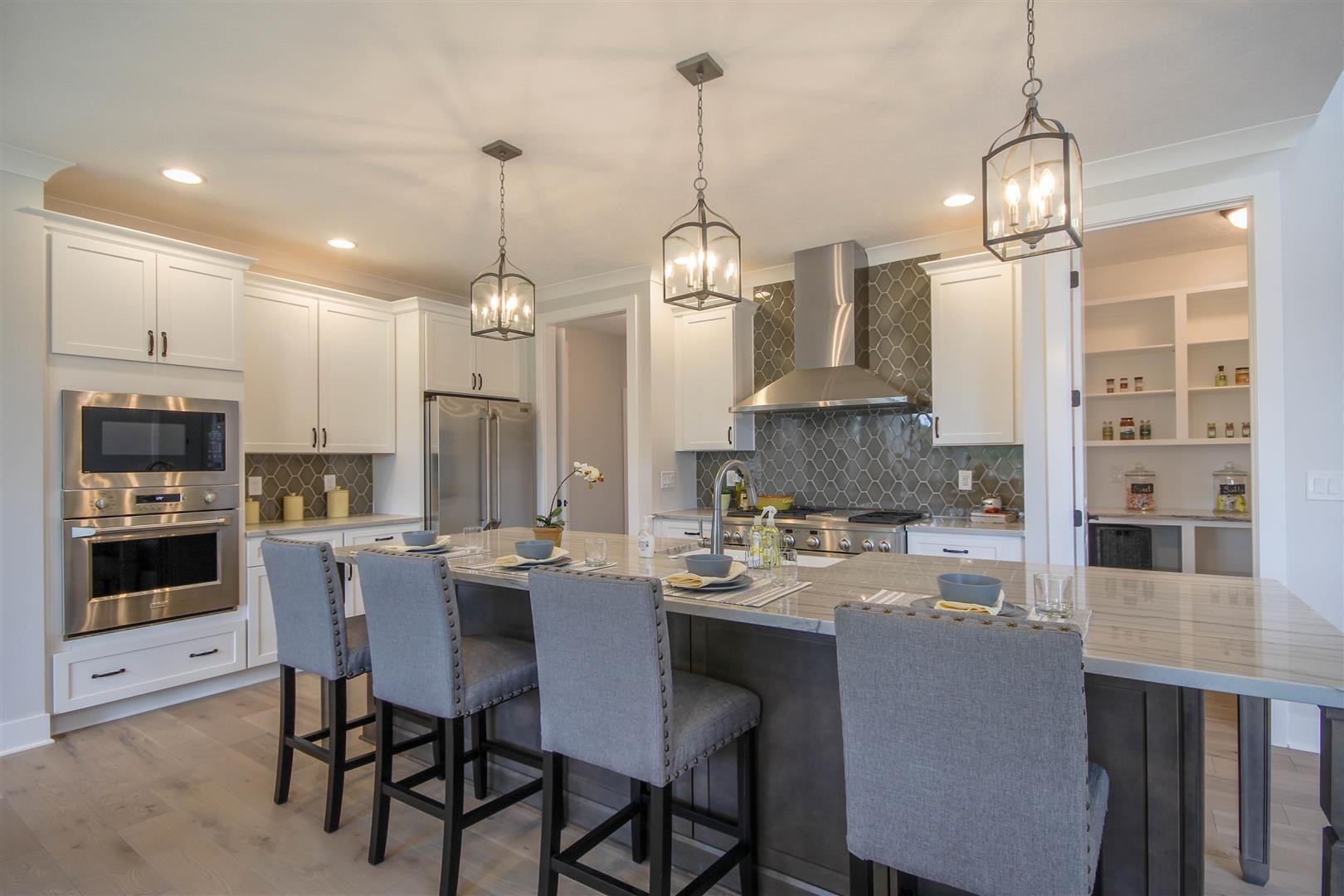 Kitchen featured in the Madison By Mayberry Homes in Lansing, MI