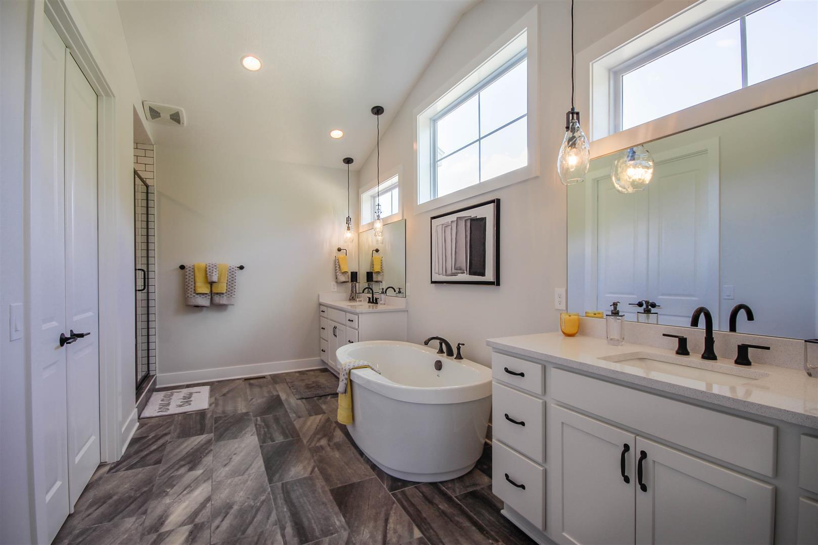 Bathroom featured in the Madison By Mayberry Homes in Lansing, MI
