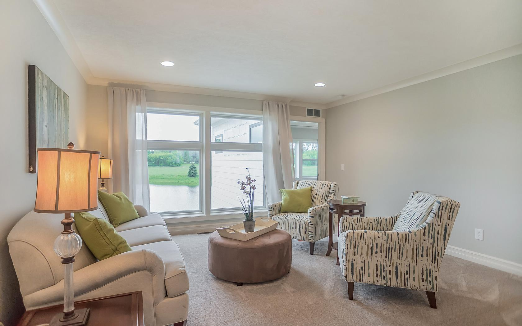 Living Area featured in the Mayberry By Mayberry Homes in Lansing, MI