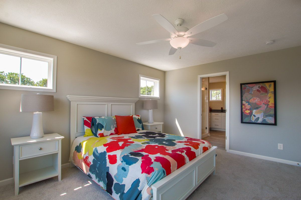 Bedroom featured in the Mackinaw By Mayberry Homes in Lansing, MI