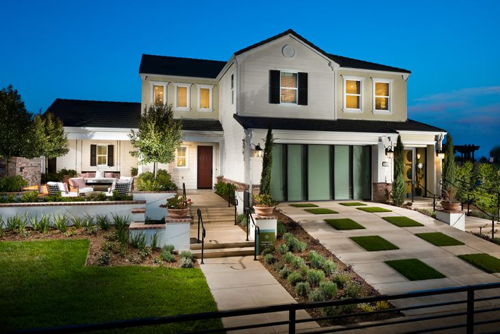Residence Four Model Home:American Traditional Architecture