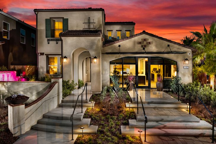 Model Home Exterior:Spanish Architecture