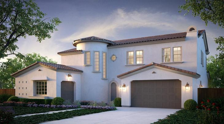 Valley Oak plan with Santa Barbara Architecture